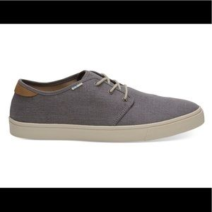 NWT Toms Shade Heritage Canvas Men's Carlo Sneaker